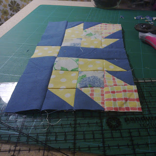 Tea Rose quilt block
