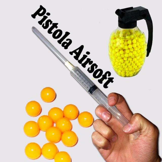 Pistola de Aire Comprimido Airsoft