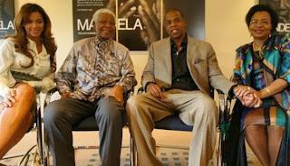 Jay-Z, Beyonce, Mandela
