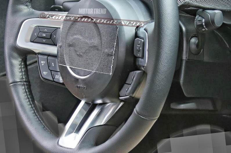 2015 Ford Mustang Interior Spy Shots