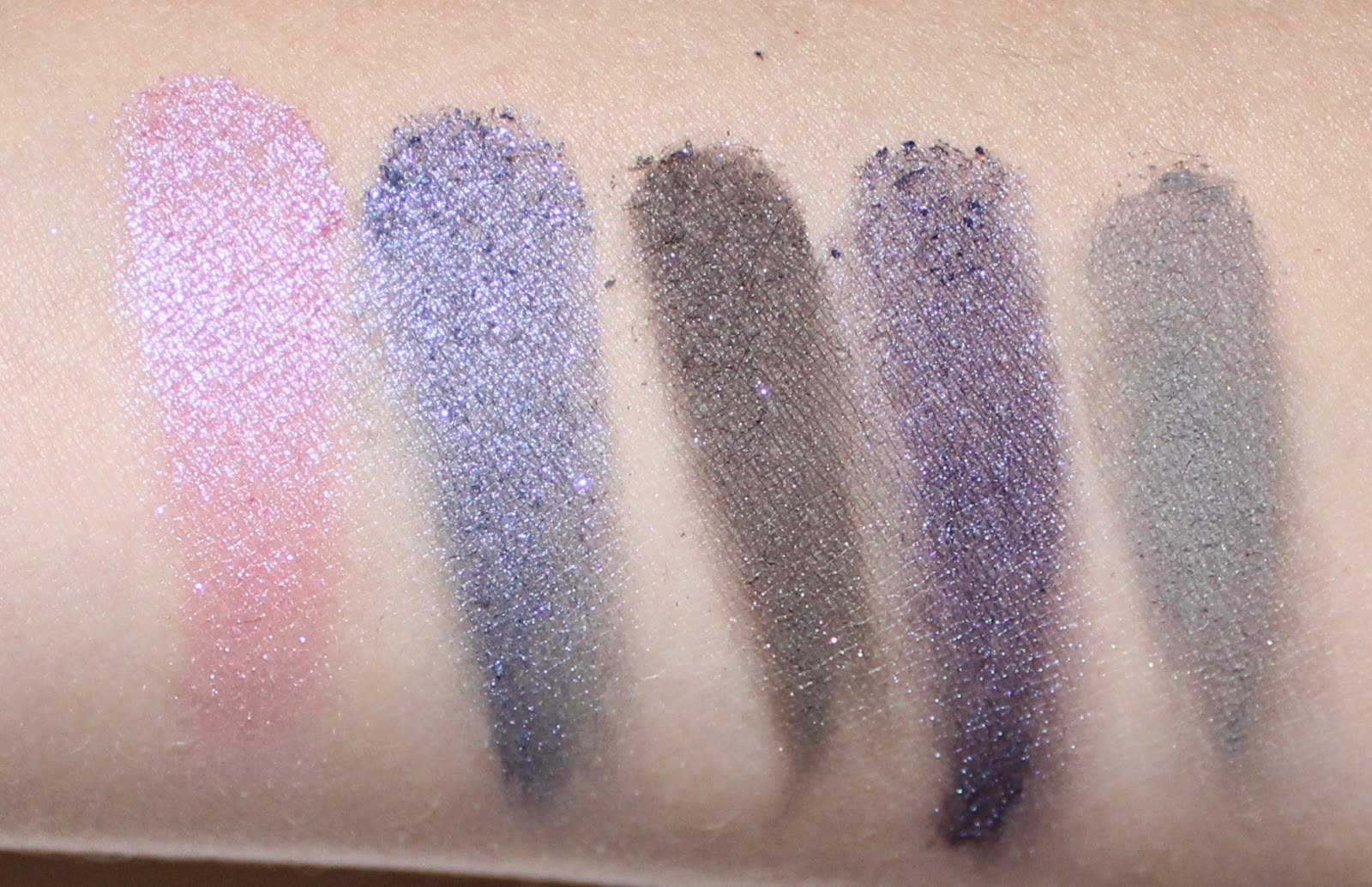 Mary Kay Midnight Jewels Eye Color Palette Sapphire Noir Swatches