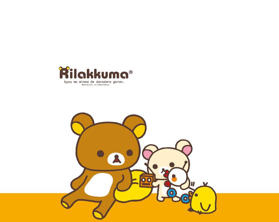 Rilakkuma Shop Rilakkuma Wallpaper : rwall3 from www.rilakkumashop.com size 900 x 716 png 89kB
