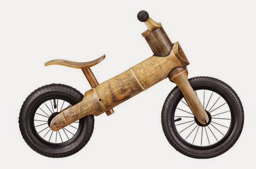 Bicicletas de Bambú para Niños, Vehículos Ecologicos