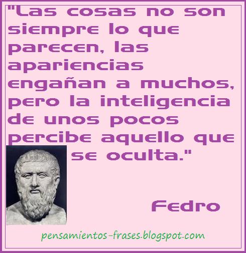 frases de Fedro