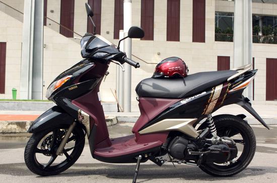 Yamaha Luvias-Những xe tay ga dưới 30 triệu