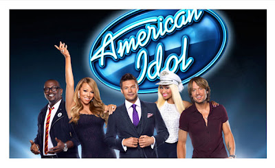 American Idol judges Randy Jackson, Mariah Carey, Nicki Minaj