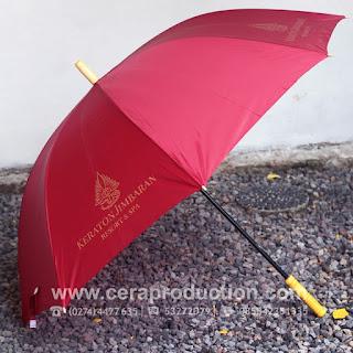 Contoh Corporate gift Payung Promosi Hotel Jimbaran Bali