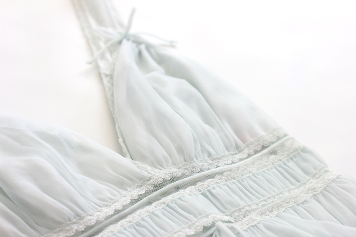 grecian nightie close up