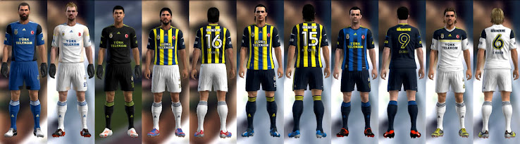 PES 2012 Fenerbahce 12 13 Kit Set by DRDYK