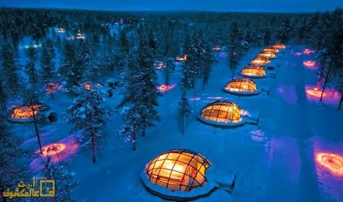 فندق Kakslauttanen، فنلندا