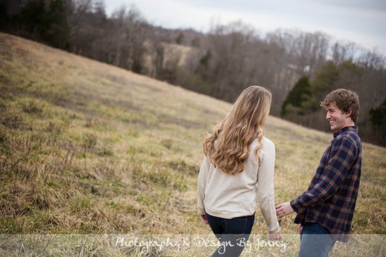 Greenville sc rustic engagement session photography