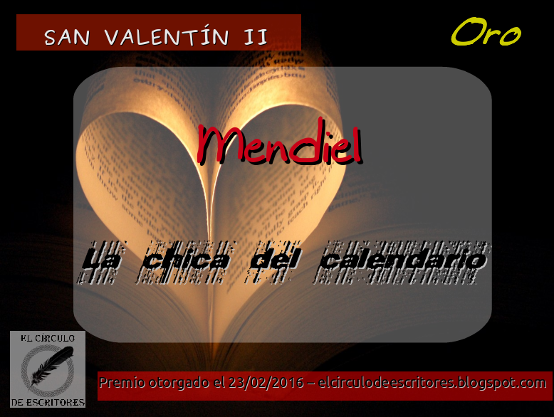 Premio Oro - Concurso San Valentín II