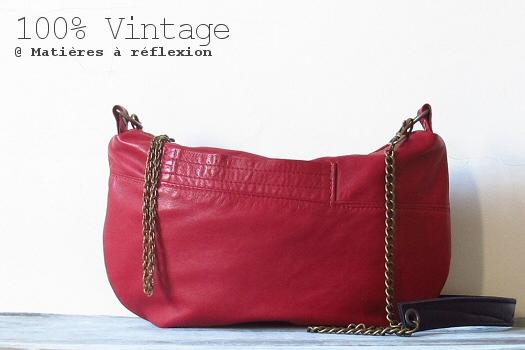 SOLDES Sac Mini-Galliane rouge