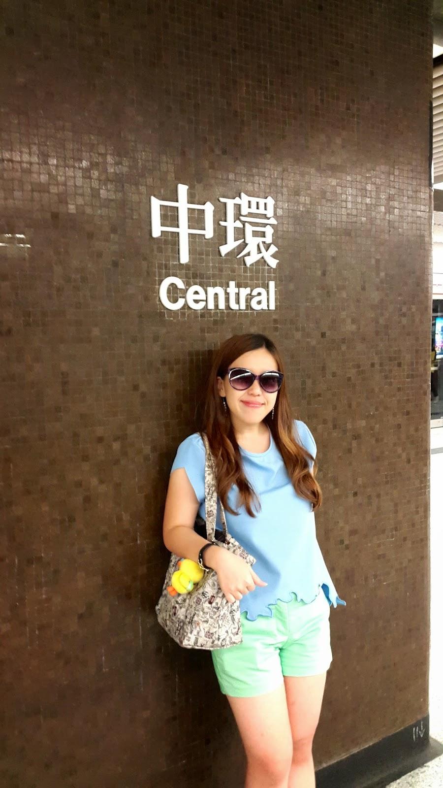Central Hong Kong MTR