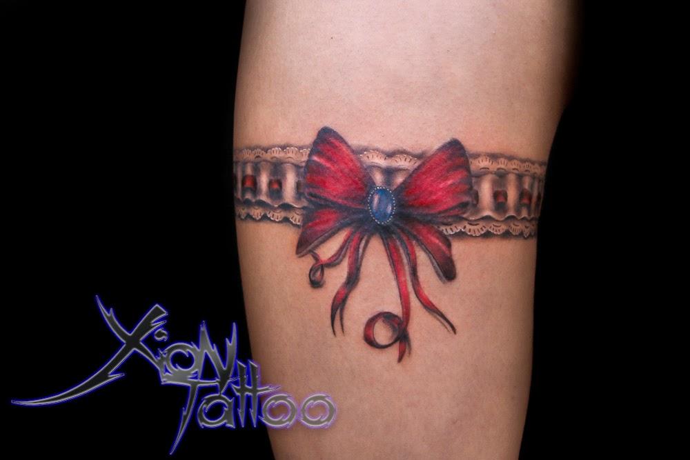 Podwiązka Garter Tattoo Dark Templar Tattoo Studio Tatuażu Oświęcim