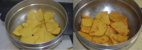 preparation of senai chips