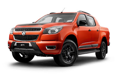 Holden Colorado Z71 4x4 Crew Cab (2016) Front Side