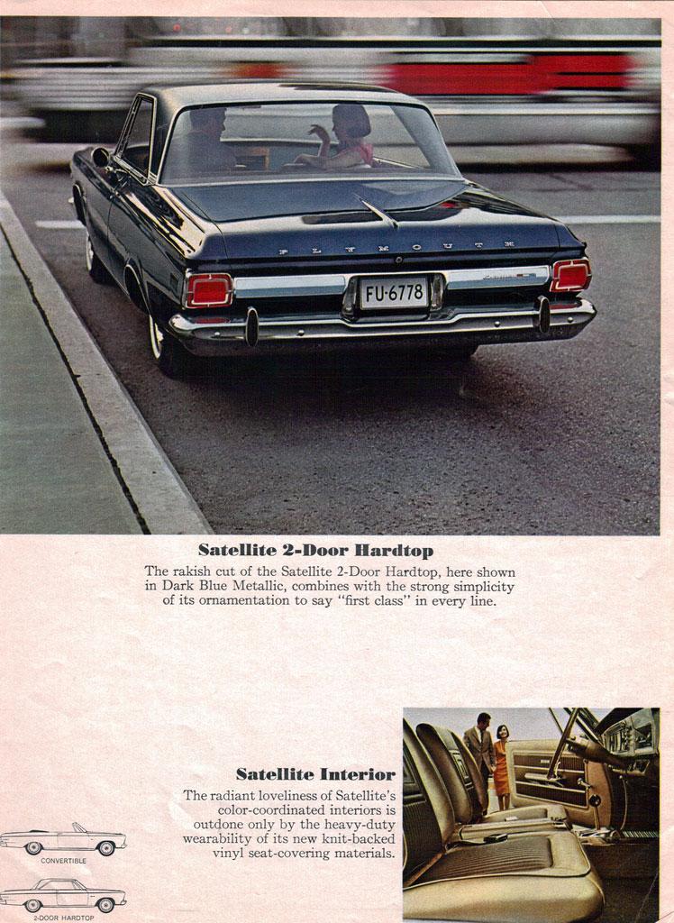 クライスラー・プリムス・サテライト | Plymouth Satellite (1964-74)