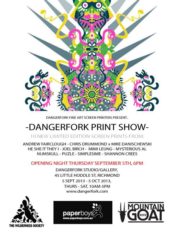 Dangerfork Print Show 2013