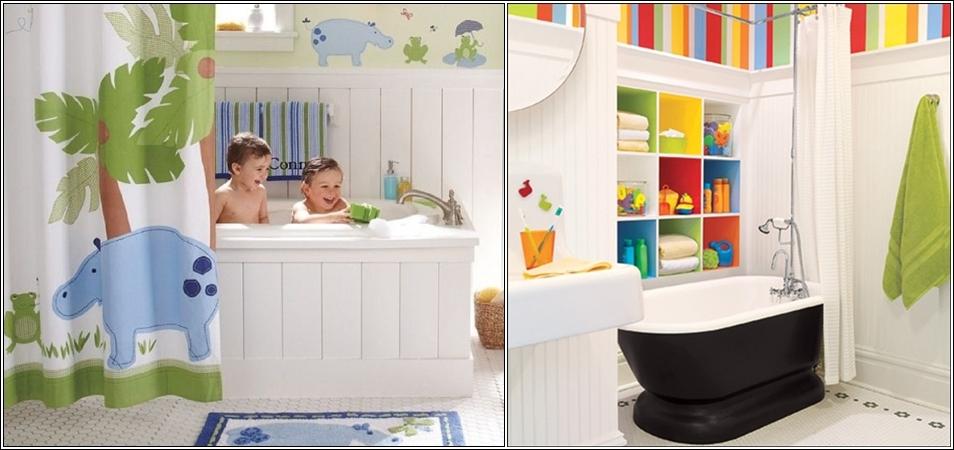D co salle de bain garcon for Salle de bain pour enfants