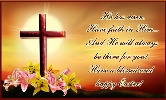 Happy Easter 2013 greetings