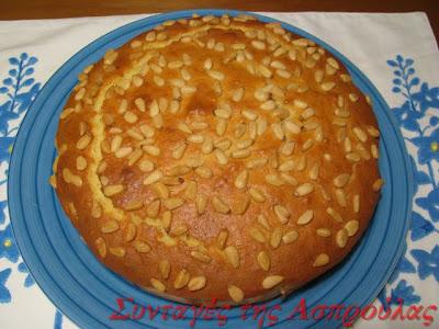 Κέικ με ανθότυρο και λεμόνι