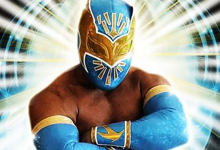 sin cara wwe without mask. sin cara face without mask.