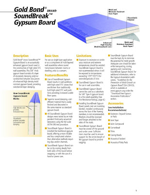Office insurance office designs and interiors august 2011 for Gold bond drywall