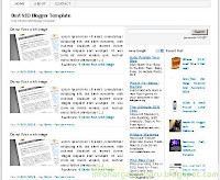 SEO Friendly Blogspot Templates | User Blogger