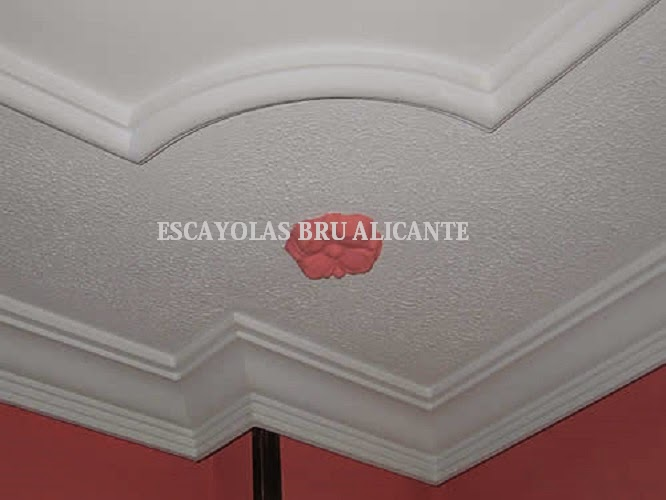 Escayolas bru alicante molduras - Molduras de techo ...