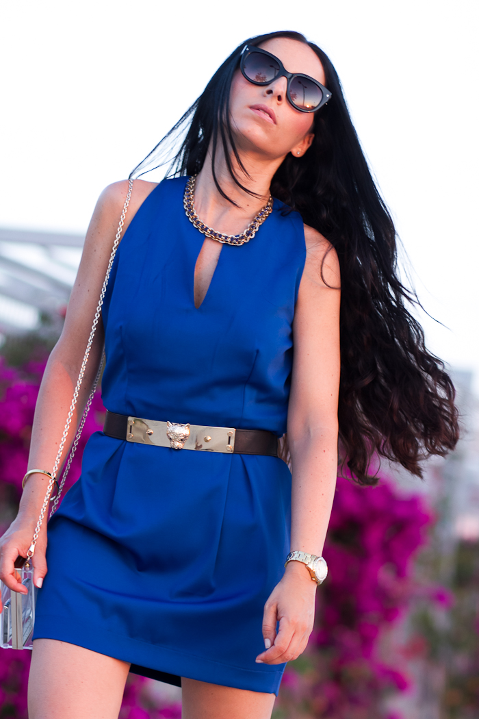 Eccentrica Blue Dress