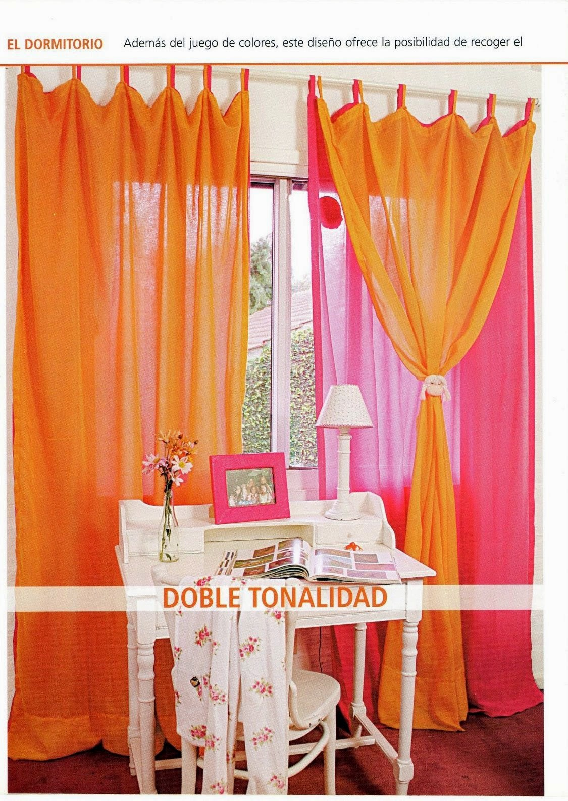 Como hacer cortinas paso a paso revistas de manualidades for Cortinas para muebles de cocina