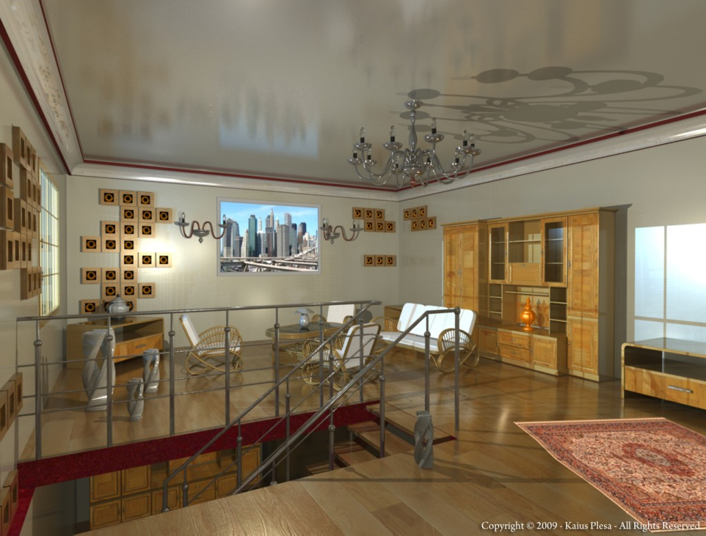 3d View Picture 3d Room Design