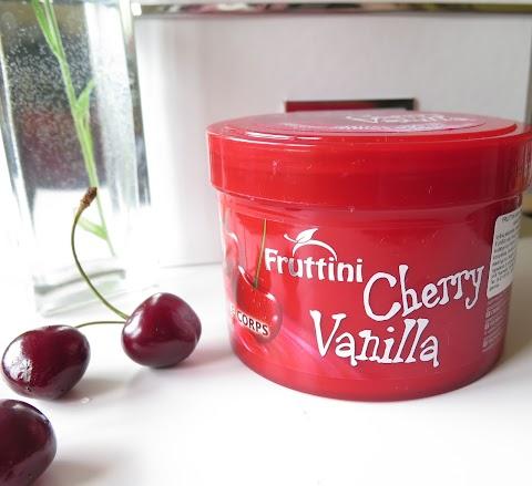 Fruttini Cherry Vanilla kūno sviestas arba didelis kiekis, tačiau ar verta?
