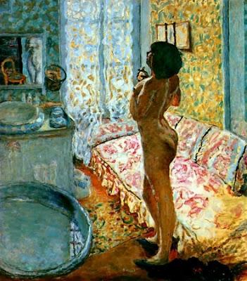 Pierre Bonnard - Nu en contre-jour - 1908