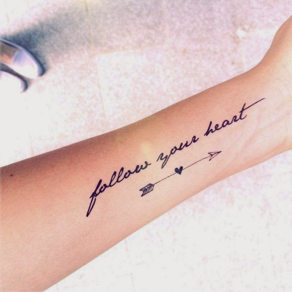 Delicate quote tattoos