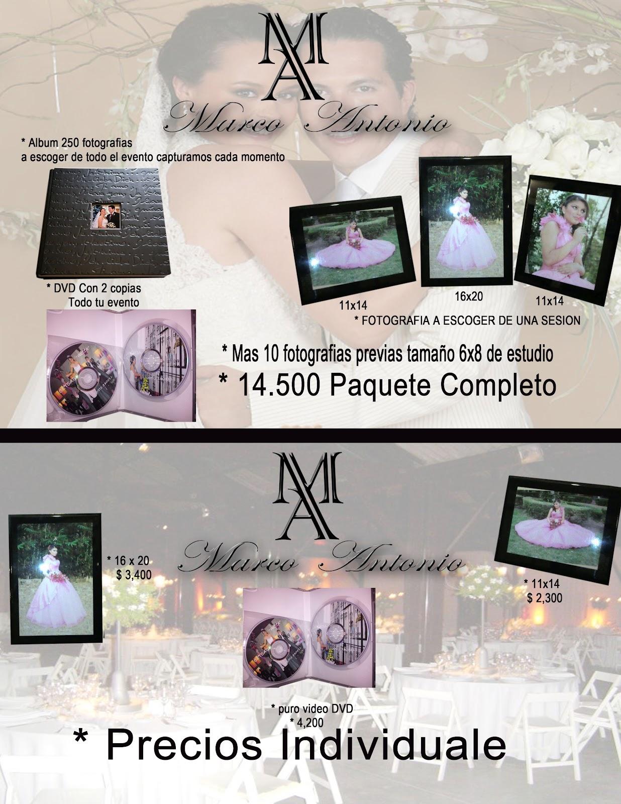 Marco Antonio Fotografía & Diseño