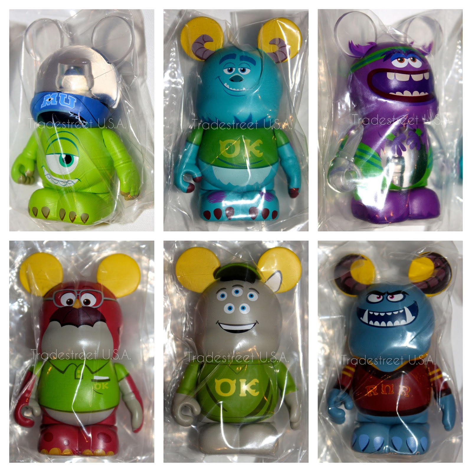 Preview Twelve Monsters University Vinylmation Toys