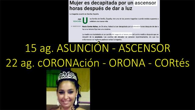 Rocío Cortés, la Virgen del Rocío y las mareas blancas (VIDEO)