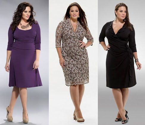 Larged Size Plus Size Cocktail Dresses Gowns