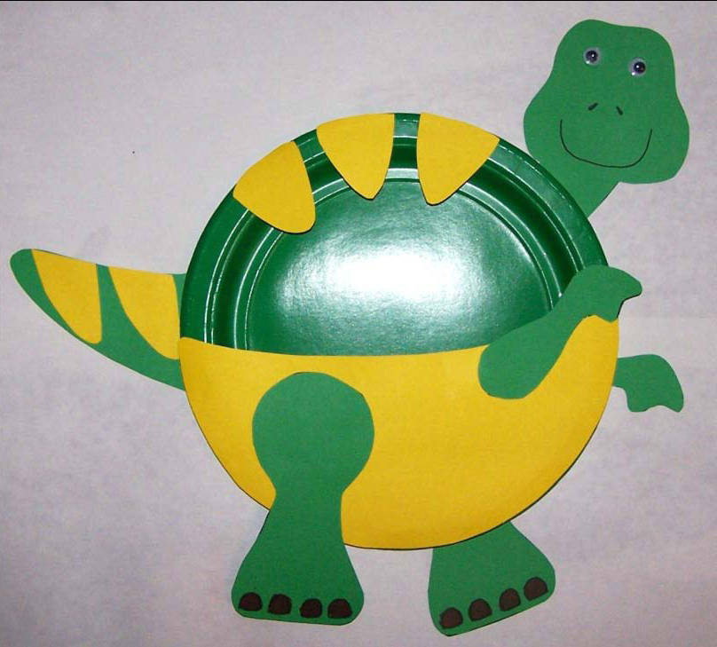t rex paper plate craft preschool crafts for kids