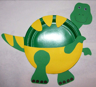 Hereu0027s another idea to make a dinosaur from a paper plate this time a friendly Tyrannosaurus Rex (T-Rex) Craft. & T-Rex Paper Plate Craft | Preschool Crafts for Kids