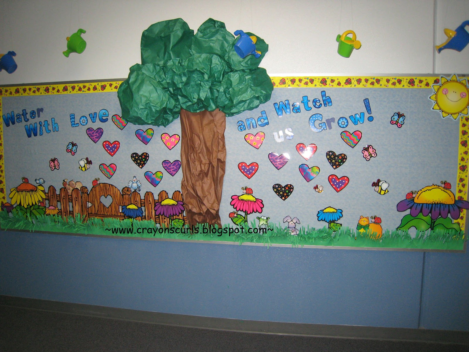 Back to School - Garden Theme Bulletin Board