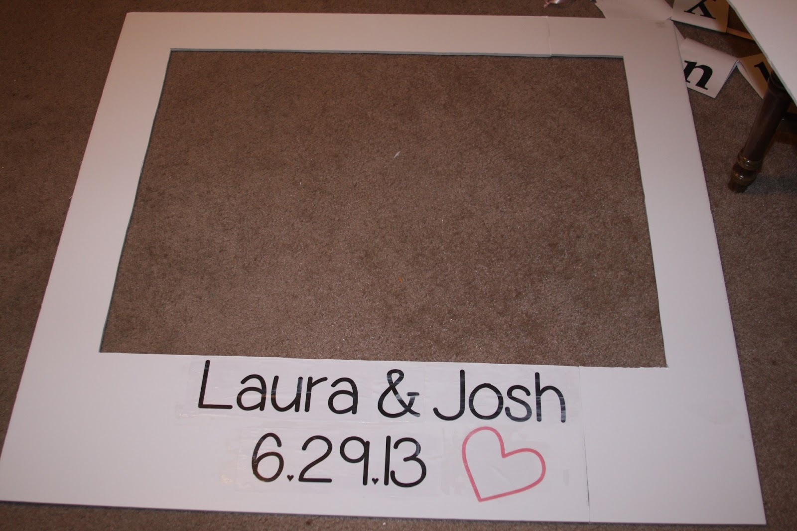 Lyndi\'s Projects: DIY Giant Polaroid