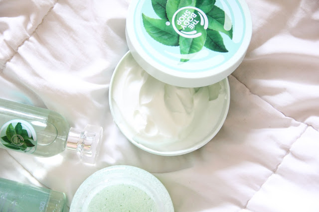 The Body Shop Fuji Green Tea Body Butter  Review