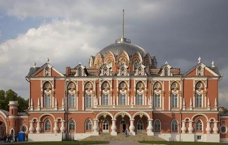 Napoleon se retiro al castillo de Petrofsky