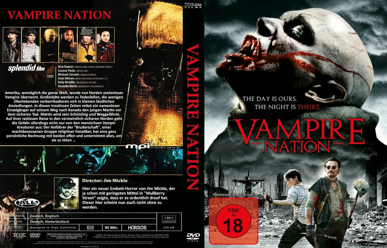 Vampire Nation DVD