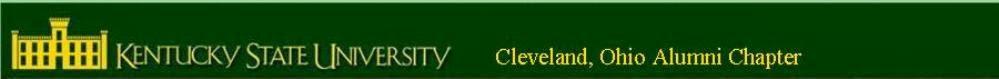 Kentucky State University Alumni Cleveland Chapter