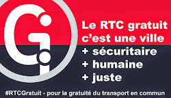 Quebec #freetransit advocates
