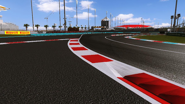 rFactor F1 Circuito Yas Marina 2011